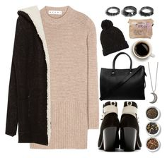 """""""Christmas at Hogwarts #3"""" by leah1992 ❤ liked on Polyvore featuring Marni, Zara, rag & bone, Paul & Joe, Tea Collection, Forever 21, Gypsy Warrior, Noir Jewelry, women's clothing and women's fashion"""