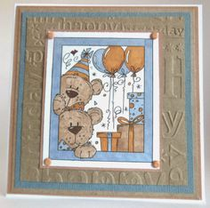Stephanie's Stampin Spot!: Birthday Bears