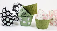 diy cupcake wrappers.  http://www.thekitchn.com/party-treats-how-to-make-your-119550