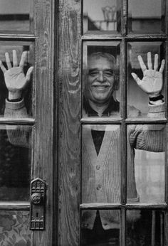 Gabriel García Márquez, México D.F.,Graciela Iturbide,1992. Look at the way she chooses to show his identity? Subtle and unique as opposed to common/coded posing strategies. He's a writer-his 'tools' are his hands.
