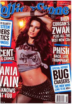 #ShaniaTwain Rolling Stone Cover
