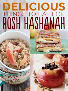 27 Sweetest Treats For Rosh Hashanah. Although I'm not Jewish, all this stuff sounds really good and Fall festive The Jewish New Year celebration starts in one week. Year 5774 is gonna be sick. Kosher Recipes, Cooking Recipes, Honey Recipes, Cooking Hacks, Sweet Recipes, Easy Recipes, Comida India, Israeli Food, Jewish Recipes