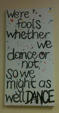 Dance little baby, DANCE! :)