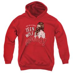 Teen Wolf/Animal Youth Pull-Over Hoodie in, Boy's