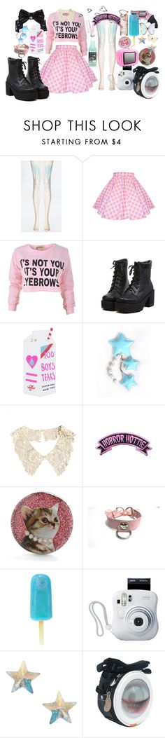 """""""I'll Drink Your Tears. I'll Stomp on Your Dreams."""" by porcelainette ❤ liked on Polyvore featuring Valfré, BOBBY, Kreepsville 666, Orelia, Brinley Co, women's clothing, women, female, woman and misses"""