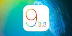 Apple lanza iOS 9.3.3, watchOS 2.2.2 y OS X 10.11.6 con correcciones menores