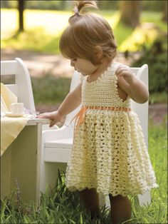 Adorable or What? ... Vanilla Baby Dress