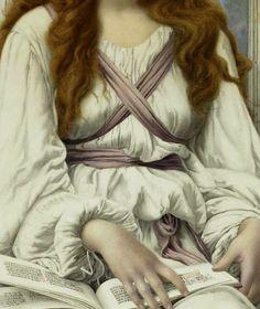 pintura de Henry Ryland (1856-1924)