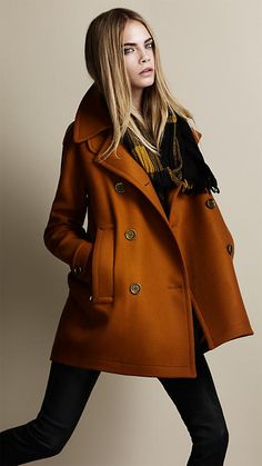 Burberry coat - cocoon coat