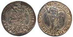 Sweden  Gustav Vasa SM 157 1 daler 1544 Svartsjö, 28,5 g. Uppgraverad, varit hängd. 1/1+  Dealer Myntkompaniet & AB Philea  Auction Starting Price: 3000.00 SEK (app. 326 EUR)
