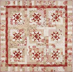 Lumiere de McGuffey by Carrie Nelson of Miss Rosie's Quilt Co
