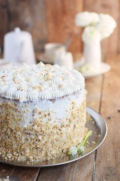 Marzipan Krokant Beeren Mousse Torte - Marzipan Brittle Berry Mousse Cake   Das Knusperstübchen