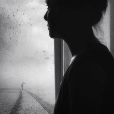 some shadows never fade away by Kasia Derwinska