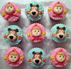 cupcake masha e o urso