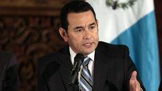 El presidente de Guatemala cancela su participación en la Cumbre de la Celac
