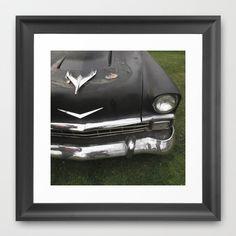Car Framed Art Print by Jean-François Dupuis - $40.00
