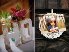 Decoração de Casamento Rústico - Doilie ou Papel Rendado | blogdamariafernanda.com