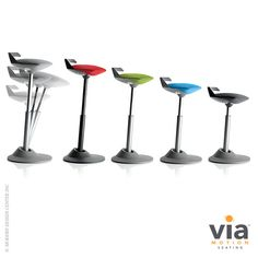 Muvman #officechair by Via Seating. Improves posture! Available at Vincimed.com