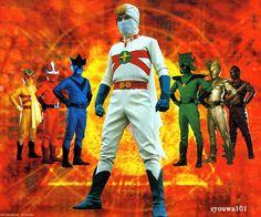Japanese TV program Rainbow man