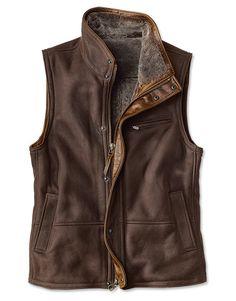 Just found this Full-Zip Shearling Vest For Men - Worlds Finest Shearling Vest -- Orvis on Orvis.com!