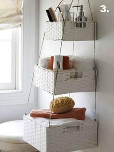 Half Bath Makeover and Floating Shelf Tutorial