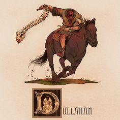 Dullahan / Avery's nemesis Nehemiah