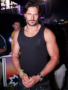 "when we got a hold of #JoeManganiello at #TrueBlood's season premiere party, we asked him his ultimate fitness tip for the summer. ""There is no fad. Just exercise. Get in there and break a sweat every day. That's my secret. My secret is, 'There is no secret.'"" he told instyle.com. http://news.instyle.com/2012/06/02/true-blood-joe-manganiello-fitness/"