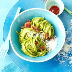 Spaguetti mit Avocado Sauce #Hauptspeise