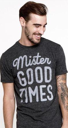 mr. goodtimes tee for Ooch