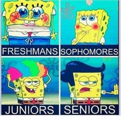 Savy I can't believe we all going to be freshmans next year!