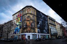 mural - li-hill & handiedan - berlin, bülowstrasse