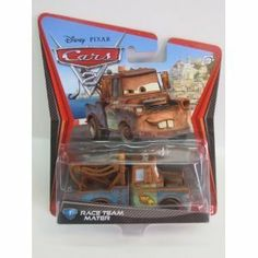 Race Team Mater by mattel. $3.95. DISNEY CARS 2 MOVIE RACE TEAM MATER. MOVIE RELEASES JUNE 24. #1 Race Team Mater from the new Cars 2 movie!