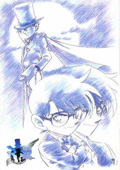 Detective Conan ~ Kaito KID vs Conan Edogawa