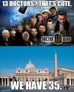 Saw this on FB, and it appeals to the geek and the Catholic in me.