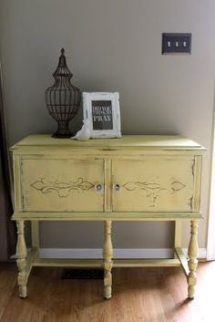 Looking for a table for my front entry to do in this annie sloan chalk paint mix