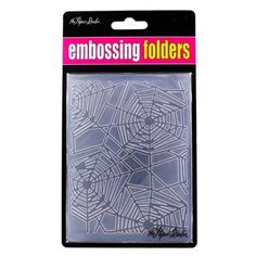 A2 Spider Web Embossing Folders