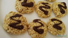 Ropogòs zabkeksz Healthy Snacks, Healthy Recipes, Doughnut, Biscuits, Muffin, Food And Drink, Gluten Free, Cookies, Breakfast