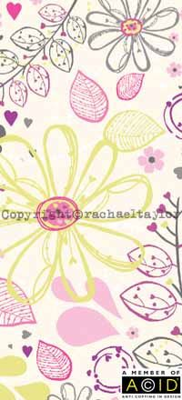Card 2 of 5 by Rachael Taylor Designs - 'Botanic Collection'