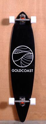 "GoldCoast 44"" Classic Floater Longboard Complete - Black"