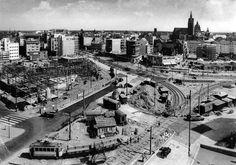 1953-1954: Neugestaltung am Steintor