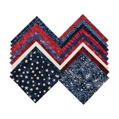 Timeless Treasures Fabrics Tonga Batiks Freedom Treats Mini | Fabric Square 5 Inch Hancocks Of Paducah, Timeless Treasures Fabric, Tonga, Fabric Squares, Coordinating Fabrics, Cotton Fabric, Freedom, Treats, Mini