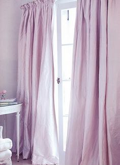 pink/purple curtains for bedroom                              …