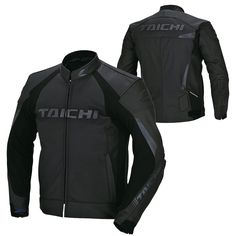 RS Taichi CORE-1 Vented Leather Jacket