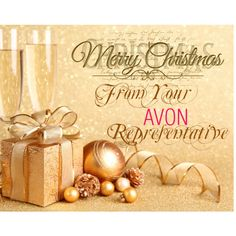 """""""Merry Christmas from Avon"""" by maggie-keachie on Polyvore"""