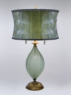 Sweetheart Gallery: Contemporary, Fine American Craft, Art, Design, Handmade Home & Personal Accessories - Kinzig Design Ava Table Lamp Artistic Artisan Designer Blown Gl Media Table, Pretty Bedroom, Chandelier Lamp, Chandeliers, Handmade Home, Lamp Design, Design Table, Shabby Chic Furniture, Hand Blown Glass