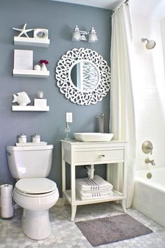 Best Bath Before And Afters 2013. Small Bathroom Paint ColorsSmall Bathroom  DecoratingSmall ...