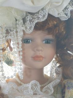 Collectible Porcelain Dolls | Collectible Memories Porcelain Doll Abigail by Rocky1975 on Etsy