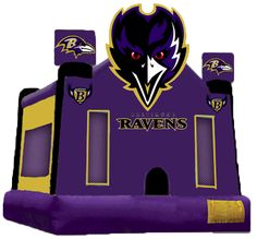 Ravens Combo Bounce...my uncle needs to get this next for all of us kids!!!