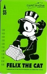 Phonecard: Felix - Green Card (Card Phone, Australia) (Felix The Cat) Car:3P9535