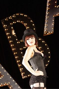 Samantha Barks as Sally Bowles in Cabaret